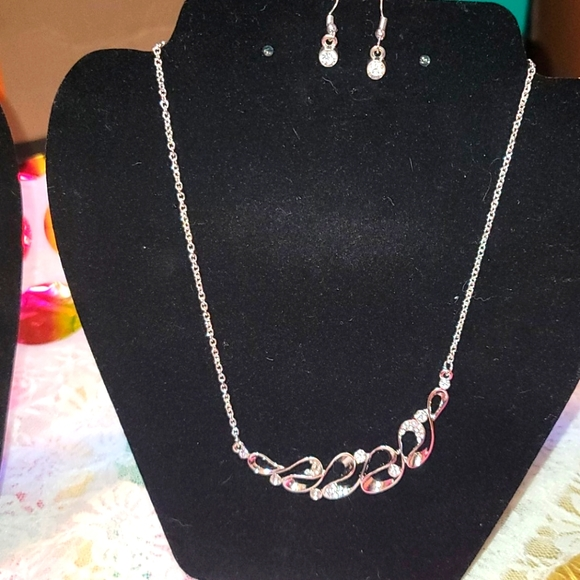 Two Brand New Paparazzi Necklaces W/Matching Earri